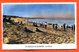 """CPSM PF 17 Ile D'oléron """" Saint Denis D'oléron - La Plage """" - Ile D'Oléron"""