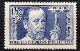 Francia 1936 Pasteur N. 333  Nuovo MLH* - Nuovi