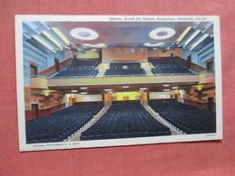 Interior Naval Air Station Auditorium      Florida > Pensacola   Ref 3902 - Pensacola