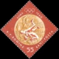 MINT STAMPS Romania - Olympic Games - Melbourne 1956 & Rome 1960 -1960 - 1948-.... Républiques