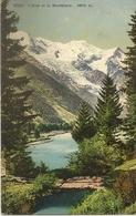 74 CHAMONIX MONT BLANC L ARVE ET LE MASSIF DU MONT BLANC  Editeur WEHRLI 5302 - Chamonix-Mont-Blanc