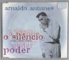 CD 2 TITRES ARNALDO ANTUNES O SILENCIO & PODER CARLINHOS BROWN BON ETAT & TRèS RARE - World Music