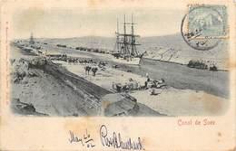 CANAL DE SUEZ - Suez