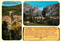 CPSM Moustier Sainte Marie     L2954 - Francia