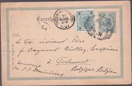 Entier  Postal Stationery - Autriche / Österreich - 1901 - Etat Moyen Déchirure 1.20cm - Entiers Postaux