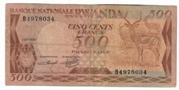 Rwanda 500 Francs 01/07/1981 - Rwanda