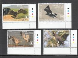 UU887 !!! EXCLUSIVE 2019 AITUTAKI FAUNA BIRDS OF PREY $10 US NOMINAL 1SET MNH - Aquile & Rapaci Diurni