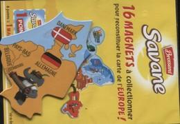 Magnet Brossard Danemark Pays-bas Allemagne Luxembourg Belgique - Magnets