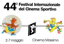 [MD4299] CPM - CINEMA - 44° FESTIVAL INTERNAZIONALE DI CINAMA SPORTIVO - PERFETTA -NV - Cinema