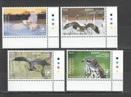 UU886 !!! EXCLUSIVE 2019 PENRHYN FAUNA BIRDS OF PREY $10 US NOMINAL 1SET MNH - Aquile & Rapaci Diurni