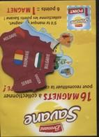 Magnet Brossard Moldavie Bulgarie Roumanie Serbie Kosovo - Magnets