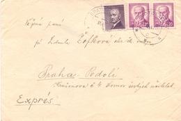 PRAHA COVER 1941 EXPRES POST    (FEB20965) - Cecoslovacchia