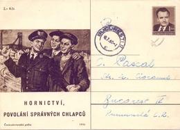BUCAREST  STATIONERY POST CARD 1960     (FEB20964) - Interi Postali
