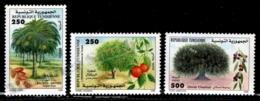 Tunisia - Tunisie 1999 Yvert 1354-56, Flora. Fruit Trees - MNH - Tunisia