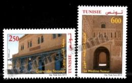 Tunisia - Tunisie 2013 Yvert 1718-19, Architecture. Tozeur Buildings - MNH - Tunisia