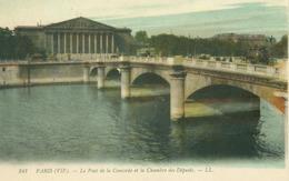 Paris; Le Pont De La Concorde Et La Chambre Des Députés - Non Voyagé. (LL.) - Ponts