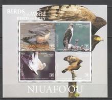 !!! EXCLUSIVE 2019 NIUAFO'OU FAUNA BIRDS OF PREY $8.5 US NOMINAL 1BL MNH - Aquile & Rapaci Diurni