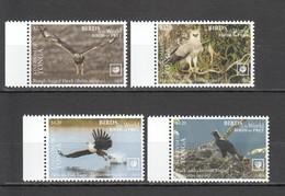 WW458 !!! EXCLUSIVE 2019 TONGA FAUNA BIRDS OF PREY $8.5 US NOMINAL 1SET MNH - Aquile & Rapaci Diurni