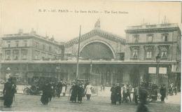 Paris; Le Gare De L'Est (The East Station) - Non Voyagé. (R. P. - Paris) - Pariser Métro, Bahnhöfe