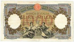 1000 LIRE CAPRANESI REPUBBLICHE MARINARE REGINE FASCIO ROMA 17/03/1936 BB/BB+ - [ 1] …-1946: Königreich