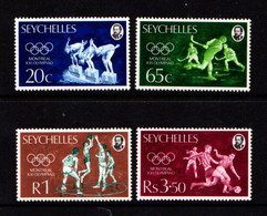 SEYCHELLES    1976    Olympic  Games    Set  Of  4    MH - Seychelles (...-1976)