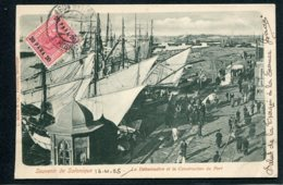 GRECE - SOUVENIR DE SALONIQUE - Le Débarcadère Et La Construction Du Port - Greece
