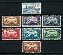 Túnez (Francés) Nº 146-147/53*/** - Unused Stamps
