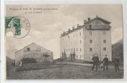 Italie Italia Italy - Val D'aosta Hospice De Petit St Bernard Versant Italien Douaniers Douane Cachet Au Dos - Italia