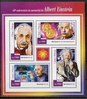 SAINT THOMAS ET PRINCE   Feuillet N° 4827/30   * *  ( Cote 12e ) Abert Einstein Nobel - Albert Einstein