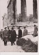 ROI ESPAGNE ALPHONSE. TEMPLES AKROPOLIS ATHENES. 1938. 18*13 CM - Personalità