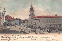 Poland - WARSZAWA - Zamek - Publ. F.B.W. 3. - Pologne