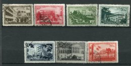RUSSIE -  Yv N° 741 à 746,748    (o)  Caucase  Cote  7  Euro  BE  2 Scans - 1923-1991 URSS