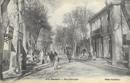 Ain Bessem  Rue Principale En 1926 - Algerije