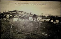 CPA, Vue Générale De Pusigneu à  Creys, Environs De Morestel, (Isère, 38), écrite 1915 - Francia