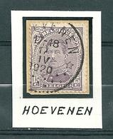 139 Gestempeld (sterstempel) HOEVENEN - 1915-1920 Albert I.
