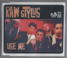 CD 4 TITRES RAW STYLUS USE ME LABEL ACID JAZZ TRèS BON ETAT & RARE - Dance, Techno & House