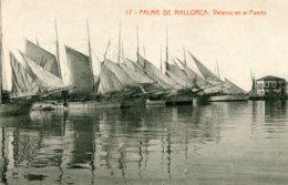 SPAIN - Palma De Mallorca Veleros En El Puerto - Many Fishing Boats Etc - Palma De Mallorca