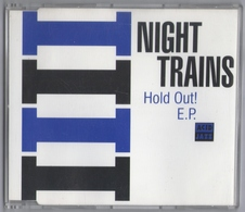 CD 4 TITRES NIGHT TRAINS HOLD OUT ! E.P. LABEL ACID JAZZ TRèS BON ETAT RARE - Dance, Techno & House