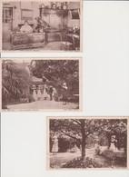 Lot 4 CPA + 1 Carte De Voeux - Chez MELANIE - 29 RIEC Sur BELON - Toutes Scannées - Autres Communes