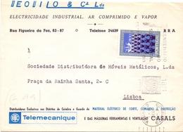 PORTUGAL MAIL COVER SPECIAL POSTMARK 1972   (FEB20981) - 1910 - ... Repubblica