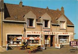 62 .n° 21722 . Equihen . Cafe Tabac Aux Tarvailleurs De La Mer . Cpsm.10.5 X 15cm . - France