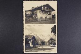 Garmisch, Landhaus Berg, Teilansicht Mit Zugspitzgruppe - Deutschland