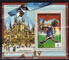 CENTRAFRIQUE  BF  Luxe N° 823 * *   Cup 1990   Football  Soccer Fussball - Coupe Du Monde