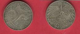 10MARK OLYMPIADE ( KM 193 ) TB+12 - [ 7] 1949-… : FRG - Fed. Rep. Germany