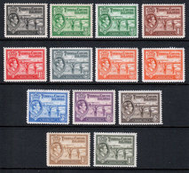Turks And Caicos KGVI 1938 Part Set To 1/- SG194/202a Mint MH - Turks And Caicos