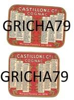 CALENDRIER 1955 - CASTILLON ET CIE - COGNAC - Calendriers