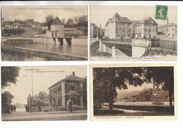 25 - Lot De 20 Cartes Postales Différentes De Besançon ( Doubs ) - Toutes Scannées - Besancon