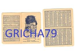 CALENDRIER 1954 - ETABLISSEMENTS G. TRANCHANT  CHATELLERAULT 86 - Calendriers