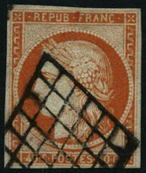 Oblit. N°5 40c Orange, Signé Brun  - TB - 1849-1850 Cérès