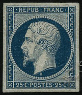 * N°10 25c Bleu, Quasi SC - TB - 1852 Louis-Napoleon